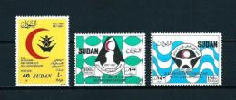 Sudán  Nº Yvert  362/4  En Nuevo - Sudan (1954-...)