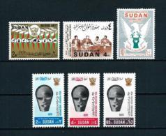 Sudán  Nº Yvert  230/2-254/6  En Nuevo - Sudan (1954-...)