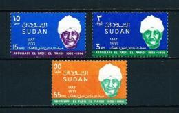 Sudán  Nº Yvert  207/9  En Nuevo - Sudan (1954-...)