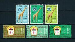 Sudán  Nº Yvert  195/7-198/200  En Nuevo - Sudan (1954-...)