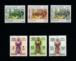 Sudán  Nº Yvert  131/3-134/6  En Nuevo - Sudan (1954-...)
