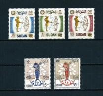 Sudán  Nº Yvert  122/4-125/6  En Nuevo - Sudan (1954-...)