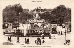 LYON.....cours Verdun....tramways - Lyon