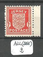 ALL(JER) JERSEY  Mi 2y ** - Occupation 1938-45