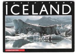 Island - Iceland - Jökulsarlon - Nice Bird Owl Stamps - Island