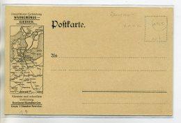 DANEMARK NORVEGE  Carte PUBLICITE Pour La WARNEMUNDE GIEDSER Cie Maritime Raderfahre FRIEDRICH FRANTZ IV    /D13-2018 - Dänemark
