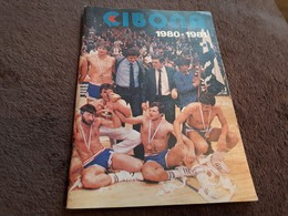 Old Sport Brochure, Prospect - Basketaball, KK Cibona Zagreb 1980-1981 - Slav Languages