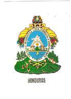 Hondural - Escudo Nacional - Nice Butterfly Stamp - Honduras