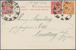 29019 Nachlässe: 1850er-1960er Jahre (ca.): Umfangreiche Sammlung Von Marken Und Einigen Belegen Aus Aller - Stamps