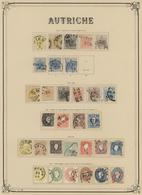 29025 Nachlässe: 1850-1960 Ca.: Umfangreiche Sammlungen Verschiedener Länder Auf Vordrucken In Zwei Großen - Stamps