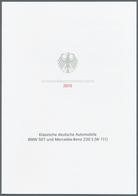 29042 Nachlässe: 2002/2015. Riesige Sammlung Von Einigen Hundert MINISTER-KLAPPKARTEN Mit Den Deutschen So - Stamps