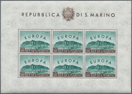 29050 Nachlässe: 1850er-1960er Jahre Ca.: Umfangreicher Nachlass Von Marken Aus Aller Welt, Ohne Deutschla - Stamps
