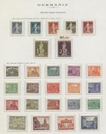 29066 Nachlässe: 1860-1970, Generalsammlung Ab Altdeutschland, Hauptwert Nach 1945 Mit Guten Postfrischen - Stamps