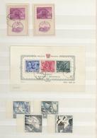 29069 Nachlässe: Gehaltvoller EUROPA-Nachlaß In Tüten/auf Steckkarten/im Steckbuch, Dabei Etliche Bessere - Stamps