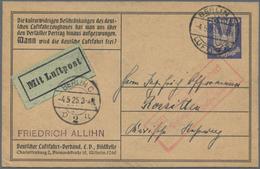 29075 Nachlässe: 1820/2008, Komplett Belassene Einlieferung In Vier Großen Kartons Unter Anderem Mit Umfan - Stamps