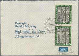29100 Nachlässe: Briefe Alle Welt, Posten Mit Rund 1.000 Belegen Ab Den 30er Jahren Bis Etwa 1960, Dabei V - Stamps