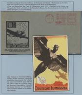 29116 Nachlässe: Thematiksammlung In 18 Ansprechend Gestalteten Alben, Dabei Sonderbelege Von Ausstellunge - Stamps