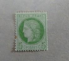 5 Cts CERES N° 53 NSG En 2eme CHOIX - 1871-1875 Ceres