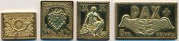 30181 Medaillen Alle Welt: 1982 Ca., Collection Helvetica, Historische Schweizer Briefmarken 925/1000 Silb - Tokens & Medals