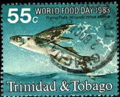 Flying Fish, World Food Day, Trinidad & Tobago Stamp SC#389 Used - Trinité & Tobago (1962-...)