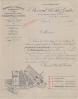 75 19 902 PARIS SEINE 1900 Appareil Chauffage J. BESNARD PERE FILS Rue Geoffroy L Asnier ECLAIRAGE Agent LAVERGNE Gaston - France