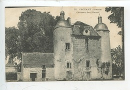 Crozant (creuse) Château Des Places (pigeonnier Colombier) N°27 - Crozant