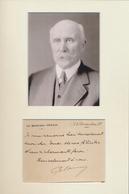 32932 Autographen: 1918/1929, Maréchal PÉTAIN, Two Letter-sheets, Each With Personal Manuscript Message An - Autographes