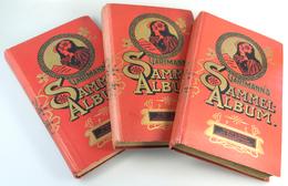 32942 Reklame- Und Sammelbilder: 1901, 3 Verschiedene Komplette Sammelalben Der C.H.L. GARTMANN CHOCOLADEF - Chromos