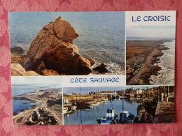 Dep 44 , Cpm LE CROISIC , Multivues , Cote Sauvage  , MX 9306 (157) - Le Croisic