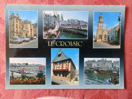 Dep 44 , Cpm LE CROISIC , Multivues , La Bretagne En Couleur  (159) - Le Croisic