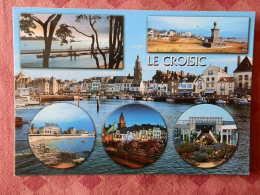 Dep 44 , Cpm LE CROISIC , Multivues , La Cote D'Amour , 2104 Y (163) - Le Croisic