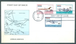 MICRONESIA - 12.7.1984 - FDC -   - Mi 21-23 Yv PA 1-3 - Lot 16781 - Micronésie