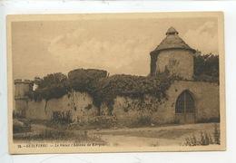 Le Guilvinec : Le Vieux Château De Kergoz (n°25 Cp Vierge) Pigeonnier Colombier - France
