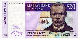 MALAWI 20 KWACHA 2007 Pick 52d Unc - Malawi