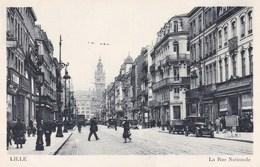 CPA Lille, La Rue Nationale (pk46367) - Lille