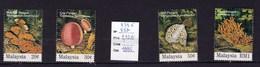 4 Valeurs Neuves ** De Malaysie 1995 Champignon - Champignons