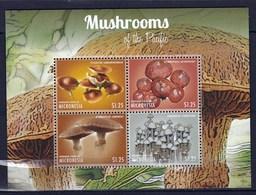 Feuiller De 4 Valeurs Neuves ** De Micronésie Champignon - Champignons