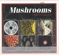 Feuillet Neuf ** De 6 Valeurs De Micronésie Champignon - Champignons