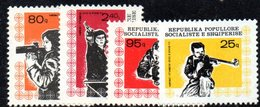 376 - 490 - ALBANIA 1978 ,    Yvert N. 1787/1790 ***  MNH - Albania