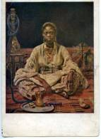 154379 OPIUM SMOKER Black Woman By REPIN Vintage PC - Other Illustrators