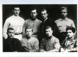 153120 FADEYEV Soviet Writer & Students Old Russian PC - Professions
