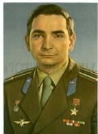 154392 USSR SPACE Valery BYKOVSKY Soviet Cosmonaut OLD PC - Space