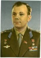 154395 USSR SPACE Yuri GAGARIN Soviet Cosmonaut OLD PC - Space