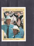 Saint Vincent & Grenadines  Bloc   Bill Clinton - St.Vincent & Grenadines