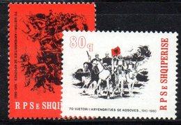 377 - 490 - ALBANIA 1980 ,    Yvert N. 1853/1854 ***  MNH - Albania