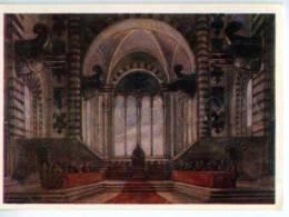 153125 Scetch Verdi OPERA Boccanegra By BENOIS Old Russian PC - Other Illustrators