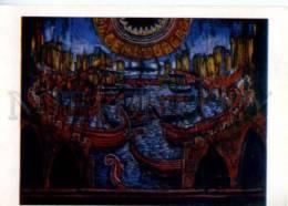 153131 Manuel De Falla OPERA Atlantida By BENOIS Old Russia PC - Other Illustrators