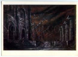153132 Rossini OPERA Siege De Corinthe By BENOIS Old Russia PC - Other Illustrators