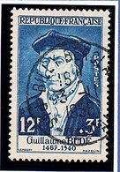 """CELEBRITES - 1956: 12F+3F Bleu -  """"Guillaume Budé""""  N° 1066 Obl - France"""