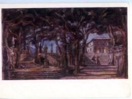 153137 Verdi Opera RIGOLETTO By BENOIS Old Russian PC - Other Illustrators